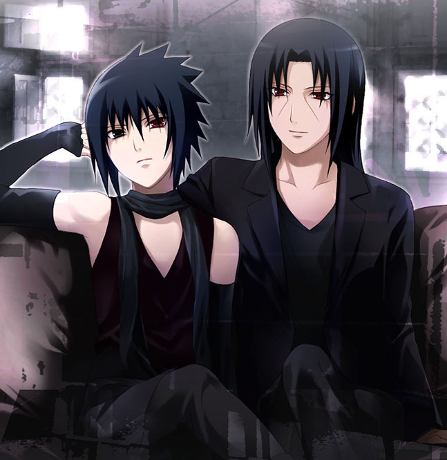 Itachi and sasuke yaoi