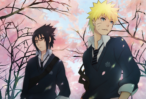 Sasuke and Naruto - sasuke-vs-naruto Photo