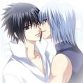 Sasuke and Suigetsu