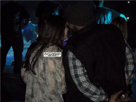 Selena Hugging Kenny Hamilton!
