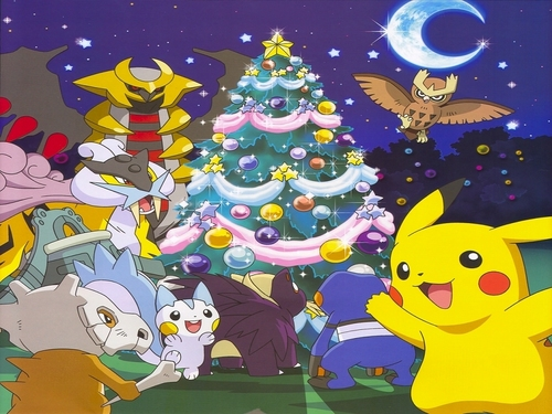 Serebii.net's Official Advent Обои