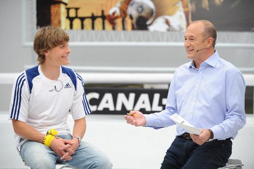 Sergio ' Sigue a las estrellas ' en Canal+ Liga