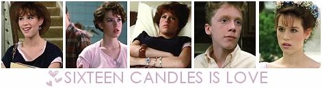 Sixteen Candles is Любовь