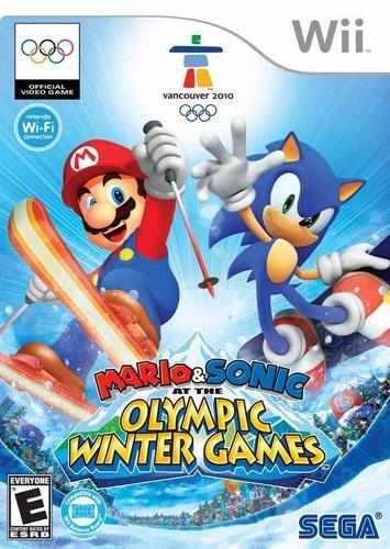 Sonic and Mario Winter Olympics