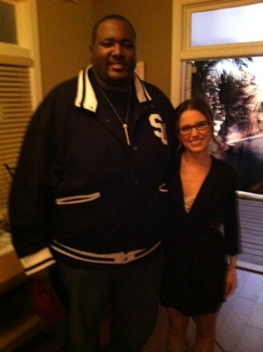 Sophia and Quinton Aaron