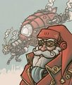 Steampunk Santa - steampunk photo