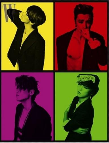 Super Junior for W korea
