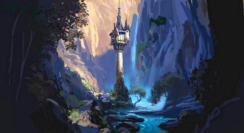 塔の上のラプンツェル :D