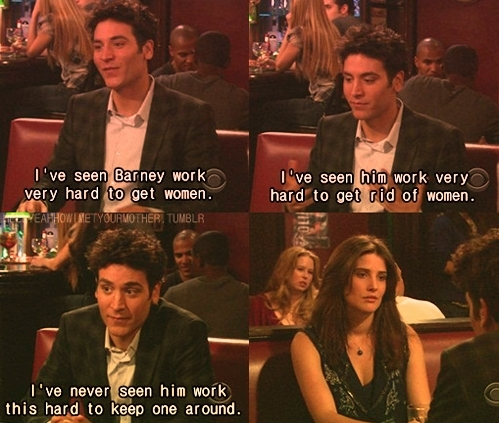 How I Met Your Mother wallpaper with a portrait titled Ted & Robin