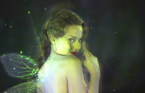 Fairies wallpaper probably containing skin and a portrait titled The Green Fairy (Moulin Rouge)