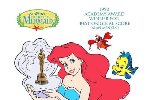 "The Little Mermaid - Academy Award Winners (Ariel ""The Legend"" - linguado, solha - Sebastian)"