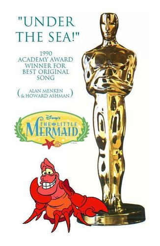 "The Little Mermaid - Academy Award Winners (Ariel ""The Legend"" - patauger, plie grise - Sebastian)"