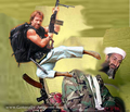 The death of bin laden - chuck-norris photo