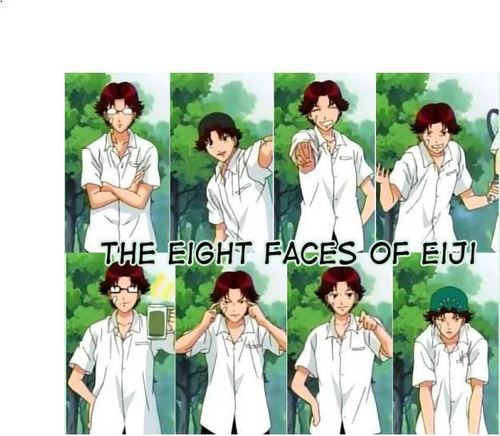 The eight Faces of Eiji