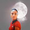 Zoë Saldaña as Uhura foto called Uhura