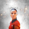 Zoë Saldaña as Uhura fotografia called Uhura
