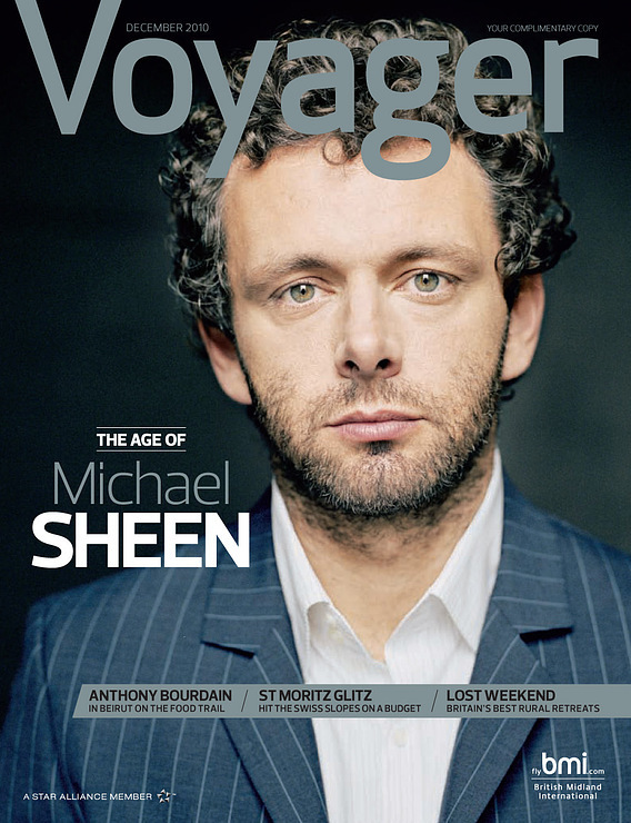 Voyager (December 2010) - Michael Sheen - Twilight Series Photo ...