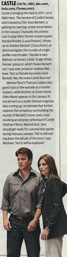 What's 次 in store for Castle&Beckett?