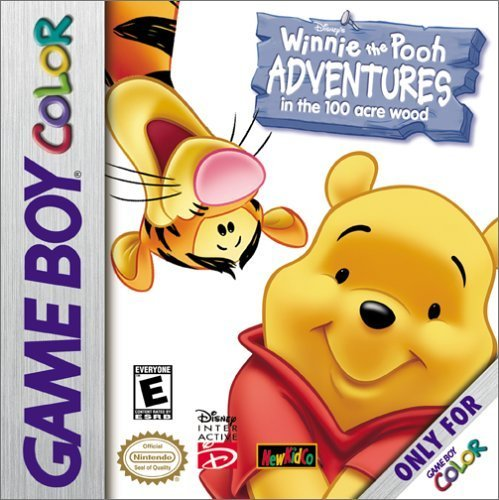 Winnie the Pooh Adventures in the 100 Acre Wood - GBC game