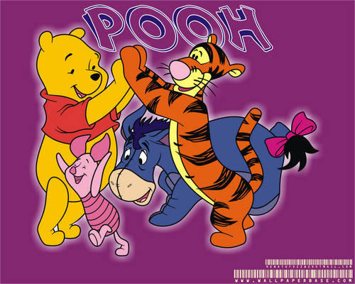 Pu der Bär Hintergrund with Anime called Winnie the Pooh