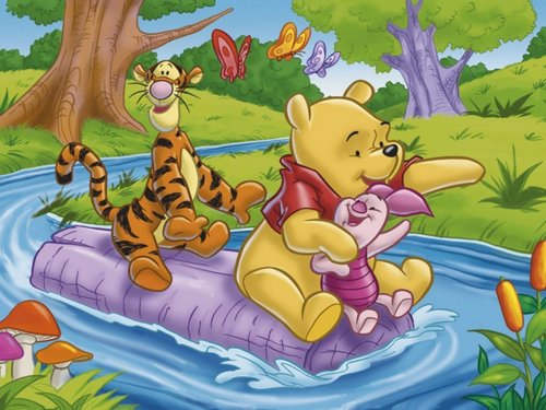 Winnie the Pooh wallpaper containing Anime called Winnie the Pooh