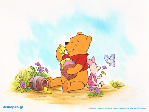 O Ursinho Puff wallpaper entitled Winnie the Pooh