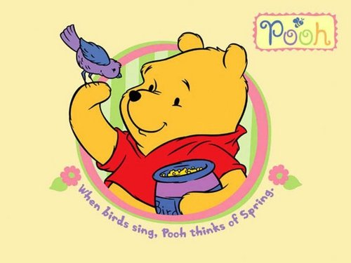 O Ursinho Puff wallpaper containing animê called Winnie the Pooh