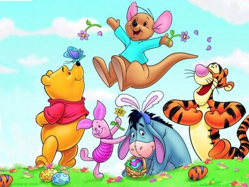 winnie the pooh wallpaper containing anime entitled Winnie the Pooh