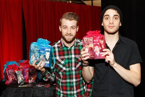 Z100 Jingle Ball 2010 at Madison Square Garden - Gift Room