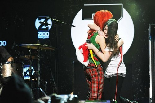 Paramore images z100 jingle ball 2010 at madison square garden performance wallpaper and for Jingle ball madison square garden