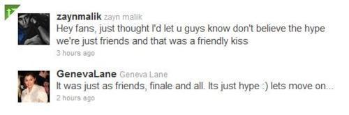 Zayn & Geneva Both Twit (Don't No What To Believe Anymore) Most 最近的 1 x