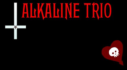 alkaline trio fond d'écran