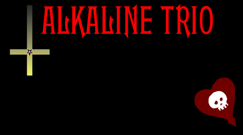 Alkaline Trio wallpaper probably containing anime entitled alkaline trio wallpaper
