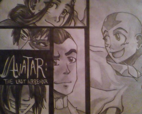 avatar:the last airbender series art