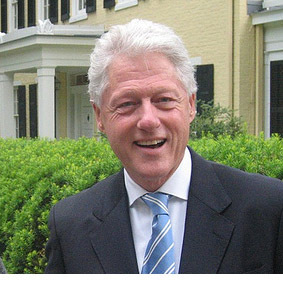 Bill Clinton wallpaper containing a business suit and a suit called bill clinton