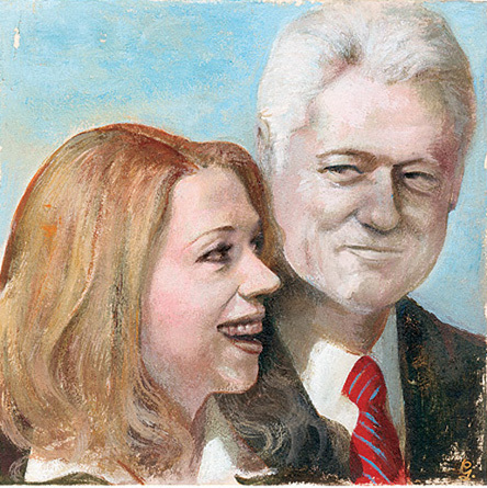 Bill Clinton Art