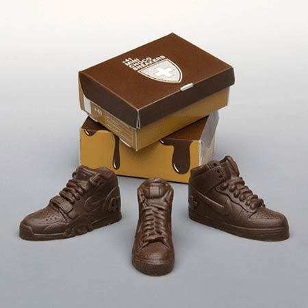 Chocolate sneakers!