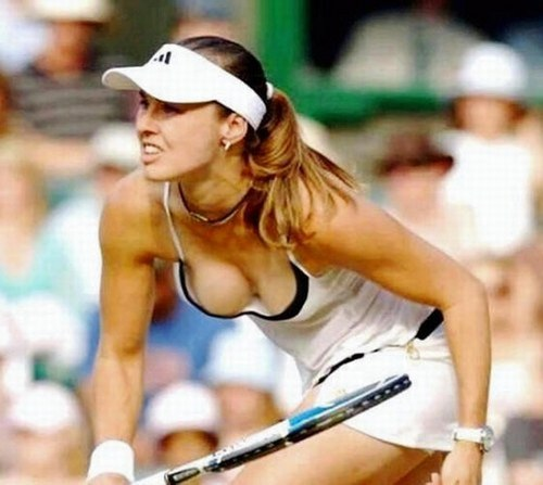 Tennis wallpaper called hingis sexy
