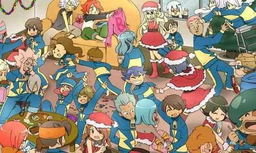 inazuma eleven christmas