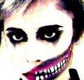 my exposed teeth makeup