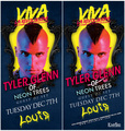 poster for Tyler's DJ'ing