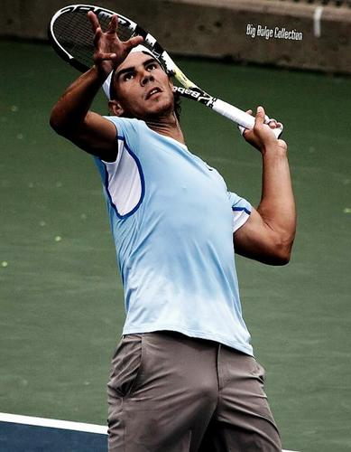 Rafael Nadal wallpaper containing a tennis pro, a tennis player, and a tennis racket titled rafa crotch....