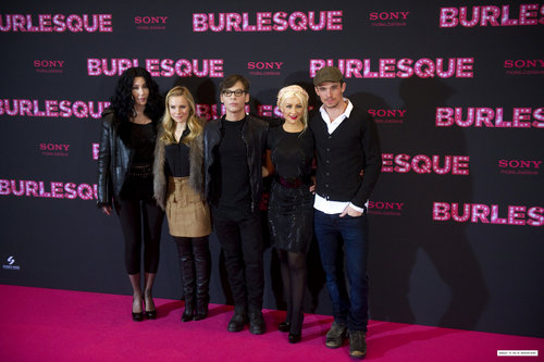 """Burlesque"" Germany Photocall"