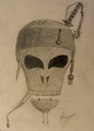 My own Pirates of the Caribbean skull