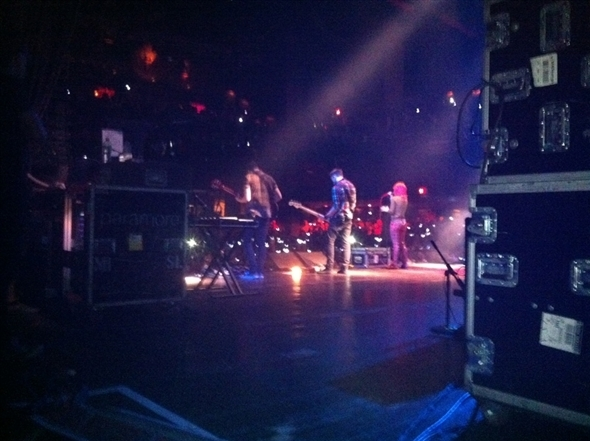 'The Only Exception' last night in Orlando!