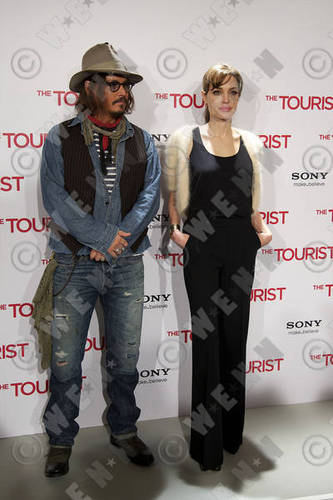 'The Tourist' Photocall in Madrid Dec 16 - Johnny Depp