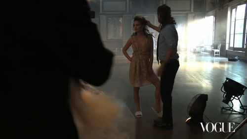 """Vogue Diaries"" Behind the Shoot"