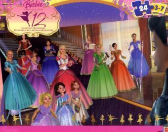 búp bê barbie 12 nàng công chúa hình n�n entitled 12 Princesses