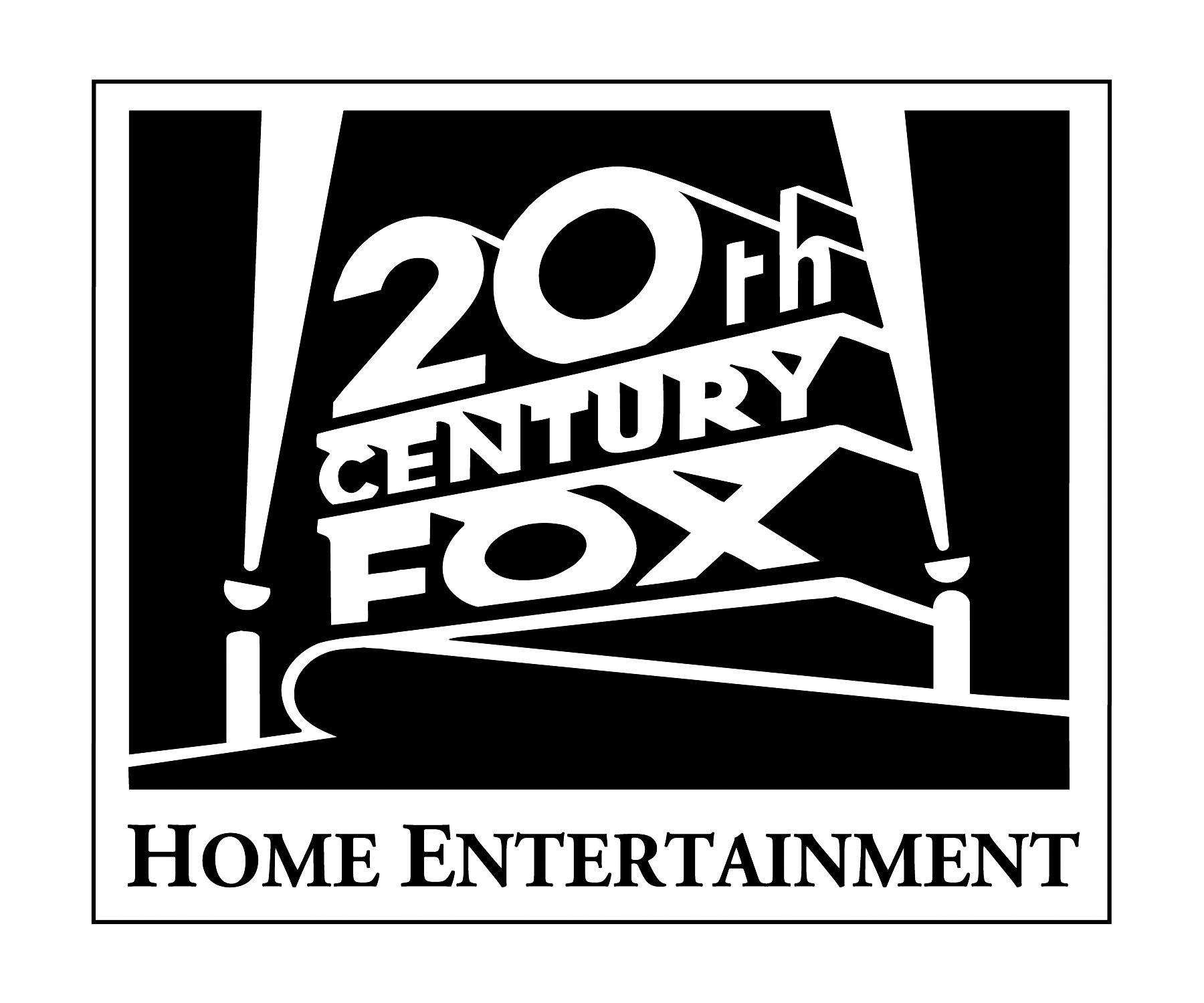 20th Century renard accueil Entertainment Print Logo