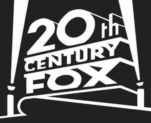 20th Century rubah, fox Print Logo